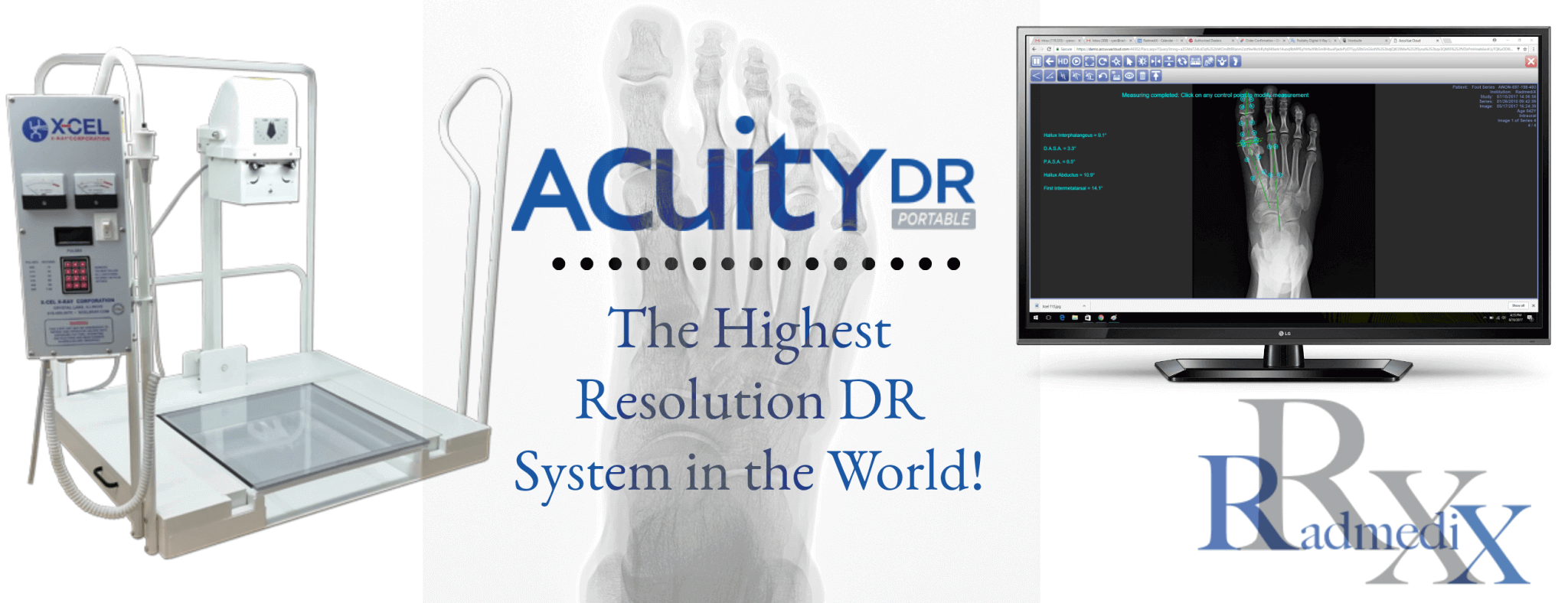 RadmediX Acuity DR Podiatry