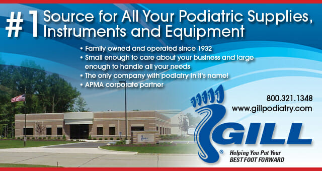 RadmediX and Gill Podiatry Supply sign Distribution Agreement