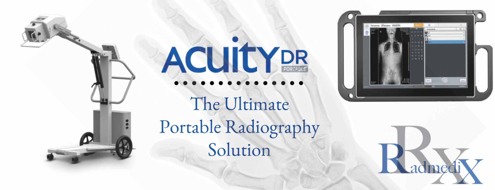 RadmediX offers the Ultimate Portable X-Ray System for Mobile Care